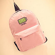 Women Polyester Casual / Outdoor School Bag Pink / Blue / Gray / Black