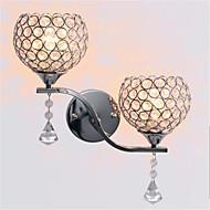 led modern minimalista nappali folyosó folyosó kristály fali lámpa
