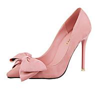 Homme-Habillé / Soirée & Evénement-Noir / Bleu / Jaune / Rose / Rouge-Talon Aiguille-Confort-Chaussures à Talons-Cuir