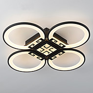 68W Modern Style Simplicity Acrylic LED Ceiling Lamp Flush Mount Living Room Dining Room Bedroom Kids Room light Fixture