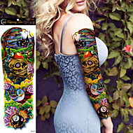 1Pcs Tatuajes Adhesivos Otros Non Toxic / Talla Grande / WaterproofMujer / Hombre / Juventud flash de tatuaje Los tatuajes temporales