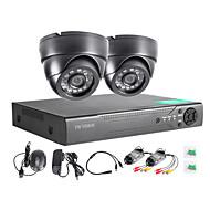twvision 4ch מקליט מעקב וידאו DVR CCTV 960h HDMI 1000tvl מערכת טלוויזיה במעגל סגור מצלמות כיפה