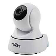 veskys® t4 720p 1.0mp wi-fi sikkerhet ip kamera (dag natt / bevegelsesvarsling / fjerntilgang / ir-cut / plug and play)