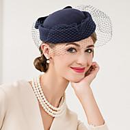 Damen Wolle Netz Kopfschmuck-Hochzeit Besondere Anlässe Freizeit Kopfschmuck Mützen 1 Stück