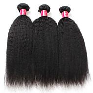 Brazylijska Remy włosy Kosmyki włosów ludzkich remy Düz Remy Human Hair tka