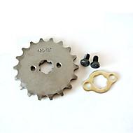 Dentes pequenos do motor 420-17mm-18t