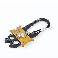20 in 1 multi-function key ring tool set/Walkman gadget mountaineering deduction/Outdoor EDC multi-function tools