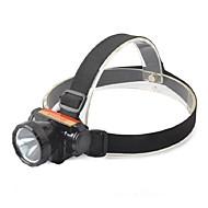 הסוללה Case / אורות זוהר אופניים LED 300 Lumens מצב Cree Q5 כפתור סוללת ליתיום מיקוד מתכוונן / עמיד למים / קל במיוחד / Zoomable
