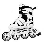 בנים-נעלי אתלטיקה-PUשחור לבן-יומיומי-מדרס מחולק