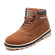 Støvler-PU-Komfort-Herre-Sort Blå Gul-Fritid-Lav hæl