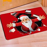 יש 1pc צורכי משק בית אקראי מחצלת חג המולד חגיגי מצב רוח balneal שינה חלקה
