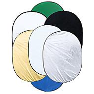 90 * 120 cm-es 7 az 1-ben multi foto ellipszis inklapbare fényvisszaverő draagbare képek stúdió reflektor