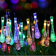 Supergröße Galaxie Weihnachtströpfchen Lichterkette aus bunten Lichtern 2 Meter 20 Kopf Batteriekasten von Lampen 2.3meter