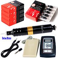 Elektrisch Make-Up Maschine Set Aluminium-Legierung Augenbrauen Lippen Eyeliner/Lidstrich 7–12V DC Stromspannung
