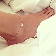 Women's Anklet/Bracelet Alloy Love European Costume Jewelry Heart Jewelry For Wedding Daily