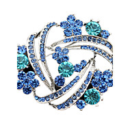 Women's Brooches Crystal Simulated Diamond Jewelry Wedding Party Daily Casual
