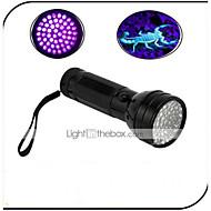 Osvětlení LED svítilny LED 100 Lumenů 1 Režim - AA Voděodolný Ultrafialové světlo Padělané Detector Každodenní použití cestováníHliníkové