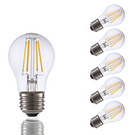 3.5 E26 LED filament žarulje A15 4 COB 350 lm Toplo bijelo Može se prigušiti AC 110-130 V 6 kom.