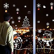 Christmas / Cartoon / Holiday Wall Stickers Plane Wall Stickers Decorative Wall Stickers / Wedding Stickers,PVC MaterialRemovable /