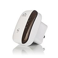 Wireless WiFi repeater signal forstærker 802.11n / b / g Wi-Fi rækkevidde extander 300Mbps signal boostere repetidor wifi WPS-os