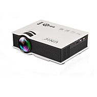 PANNOVO 1080P 800 lumens LCD   Mini Home High Definition  Projector / HDMI / AV / SD / USB / Remote Control (UC40)