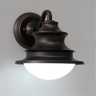 AC 220v-240v E26 / e27 континентальный американский ретро железа водонепроницаемой наружной стены бра настенный светильник