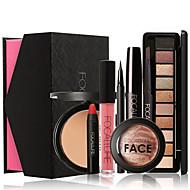 Secos / Molhado / Mate / Brilho / Mineral Olhos / Rosto / Lábios Gloss de Pote / Longa Duração / Corretivo / Natural / Secagem Rápida