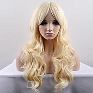 Femei Peruci Sintetice Fără calotă Lung Foarte lung Ondulee Naturale înălbitor Blonde Perucă Naturală Halloween Wig Caruciorul Peruca