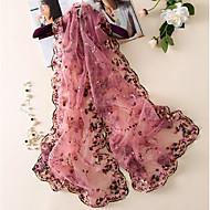 Women's Silk Rectangle,Casual Print Fall Winter
