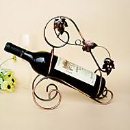 Viinitelineet Valurauta,27*11*29CM viini Lisätarvikkeet