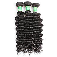 Brazilian Remy Hair Remy fletninger af menneskehår Dyb Bølge Remy Human Hair vævninger