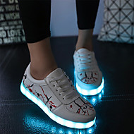 Sneakers-PU-Komfort Originale Light Up Sko-DamerUdendørs Fritid Sport-Flad hæl
