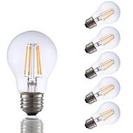 3.5 E26 LED filament žarulje A17 4 COB 350 lm Toplo bijelo Može se prigušiti AC 110-130 V 6 kom.