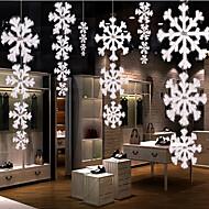 1stk julepynt høj kvalitet tre-dimensionelle plane snefnug snor
