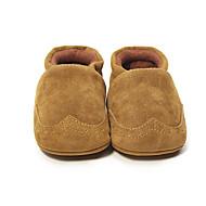 Dziecięce Dla chłopców Mokasyny i pantofle Buty do nauki chodzenia Buciki dla noworodków Polar Wiosna Jesień CasualButy do nauki