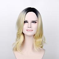 módní paruka prezident dcera  paruka světle zlatou vlnovkou syntetické paruka s tepelně resisitant vlasy