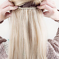 "16 ""-24"" dik full één stuk 5 clips in human hair extensions 120g"