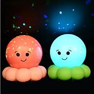 Krake Nachtlicht Sternenhimmel Musik-Player Krake Lampe sublime Nachtlicht christmas party Kinder Geschenk ramdon Farbe