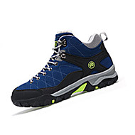 Herre-PU-Flat hæl-Komfort-Sportssko-Fritid Sport-Svart Blå