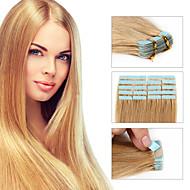 Ταινία ανθρώπινη remy τρίχας επέκταση 30g / 40g / 50g περιλαμβάνει 20pcs ανά συσκευασία για τις γυναίκες μόδας γυναικεία μαλλιά