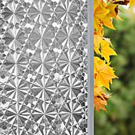 Floral Clássico Adesivo de Janela,PVC/Vinil Material Decoração de janela