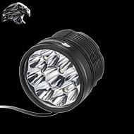 נשר חד® פנסי ראש 10800LM Lumens 3 מצב קריס XM-L2 U2 18650 עמיד למים / ניתן לטעינה מחדשמחנאות/צעידות/טיולי מערות / שימוש יומיומי / רכיבה