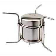 Stainless Steel Stove Single Camping Picnic Hiking Outdoor BBQ