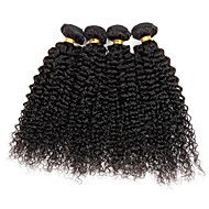 4 bundles Indian Kinky Curly  Human Hair Weave Extensions 400g Full Head Set 8inch-28inch
