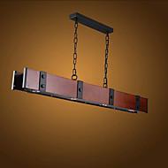 צמודי תקרה ,  מסורתי/ קלאסי Electroplated מאפיין for LED עץ/במבוק חדר שינה חדר אוכל חדר עבודה / משרד חדר ילדים מסדרון מוסך