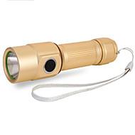 Iluminação Lanternas LED Junta Tórica LED 300 Lumens 5 Modo LED 18650.0 AA Foco Ajustável Prova-de-Água Tamanho Compacto Super Leve