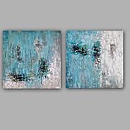 Pintados à mão Abstrato Pinturas a óleo,Moderno Estilo Europeu 2 Painéis Tela Pintura a Óleo For Decoração para casa