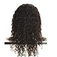 rendas frente perucas onda do corpo profundas perucas-glueless remy brasileiro do cabelo humano natural com o cabelo do bebê para as