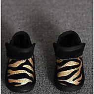 Boy's Boots Comfort Glitter Casual Black Yellow