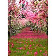 broskev gardenbackground photo studio fotografování kulis 5x7ft